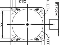 Standard types - BES517-140-M6-CA1