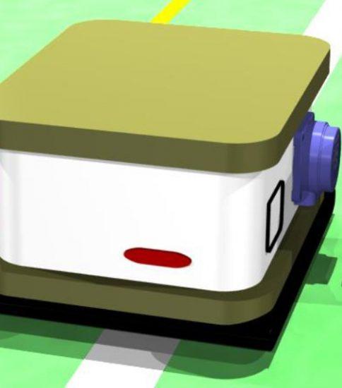 自動搬送車のワイヤレス充電