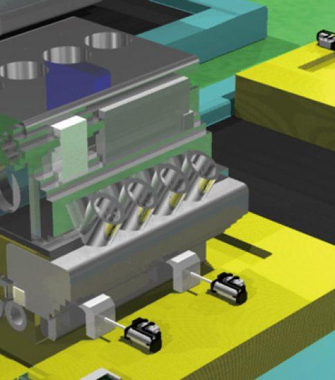 エンジンブロック着座確認を自動化